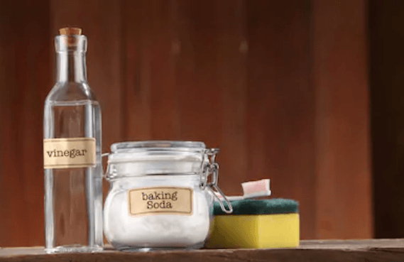 Baking Soda and Vinegar Cleaning